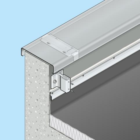 Absturzsicherung Flachdach Barrial fix Innenseite Fuss A
