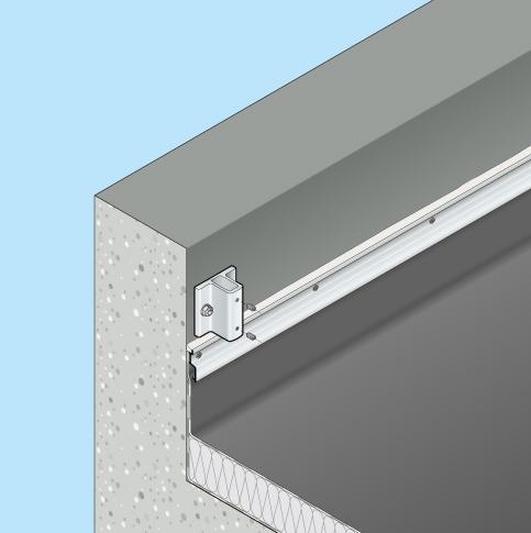 Absturzsicherung Flachdach Barrial fix Innenseite Fuss A5