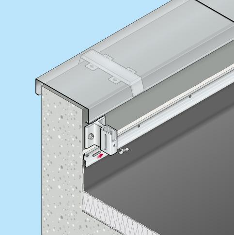Absturzsicherung Barrial klappbar Innenseite Fuss AR Einbaubeispiel