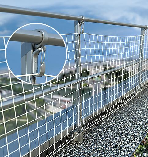Accrofil - Befestigungssystem für Schutznetze