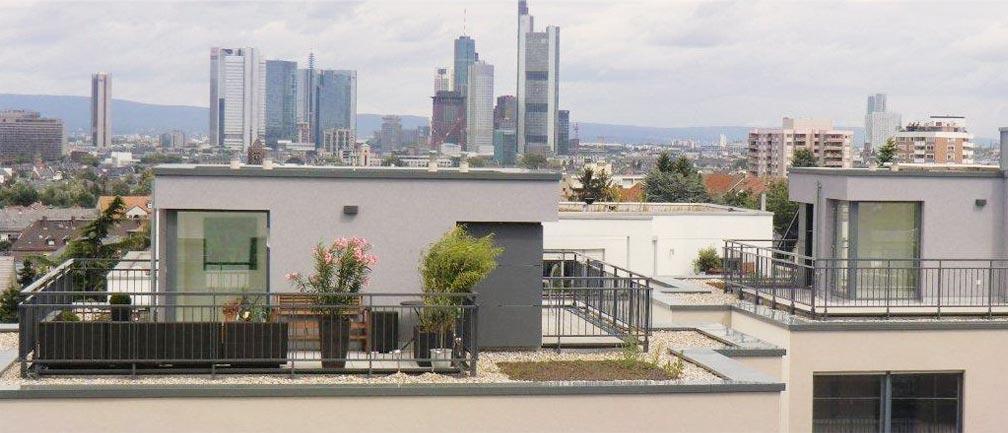 Panorama - Terrassengeländer