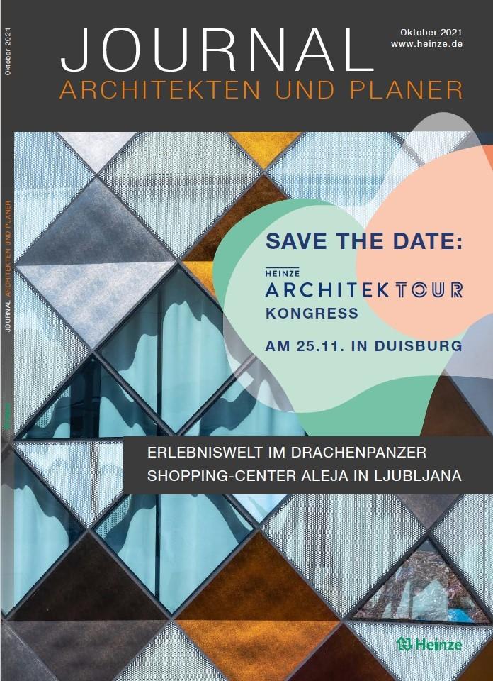 Heinze Journal Architekten und Planer Ausgabe 10.2021