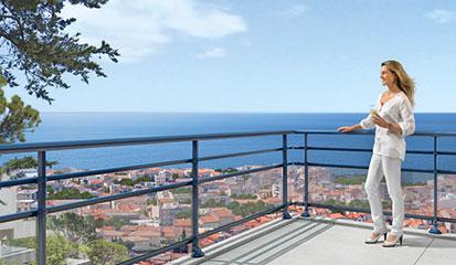 Panorama Terrassen- und Balkongeländer
